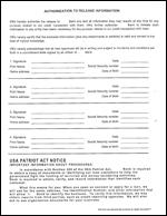 SBA Credit & PFS
